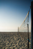 Volleyball de plage - verticale Images stock