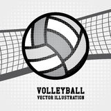 Volleyball Design Royalty Free Stock Photo