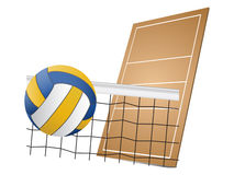 Volleyball design elements Stock Photos
