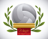 Volleyball design Royalty Free Stock Images