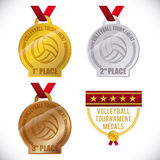 Volleyball design Stock Images