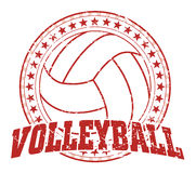 Volleyball Design - Vintage Royalty Free Stock Image