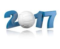 Volleyball 2017 design Stock Photos