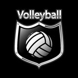 Volleyball emblem - sport Stock Photography