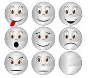 Volleyball face Stock Photos