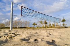 Volleyball field 4th Stock Photos