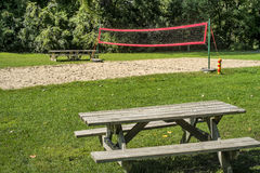 Volleyball field Stock Photography