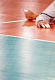 Volleyball floor Royalty Free Stock Image