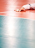 Volleyball floor Royalty Free Stock Images