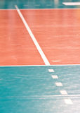 Volleyball floor Stock Images