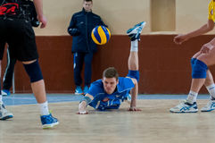 Volleyball game Stock Photography