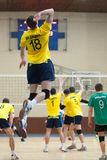 Volleyball game. Ukrainian super league Stock Photo