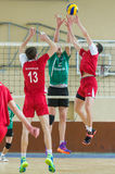 Volleyball game Royalty Free Stock Photos