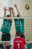 Volleyball game Stock Images