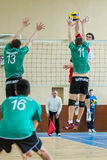 Volleyball game Royalty Free Stock Photography