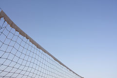 Volleyball or general sports net. Abstract sports net shot could be volleyball or tennis net in summer royalty free stock photography