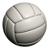 Volleyball getrennt auf einem weißen Hintergrund Stockbilder