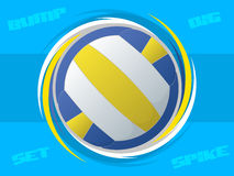 Volleyball Icon Stock Images