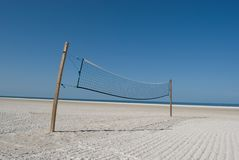 Volleyball iedereen? Stock Foto