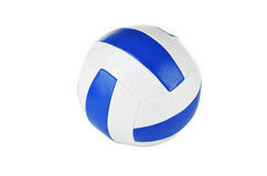 Volleyball isolated on a white Royalty Free Stock Image