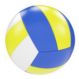 Volleyball isolated on white background Royalty Free Stock Photo