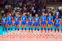 Volleyball: The Italian Team Stock Photo