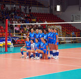 Volleyball: The Italian Team Stock Photography