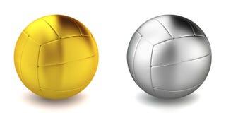 Volleyball klumpa ihop sig Fotografering för Bildbyråer