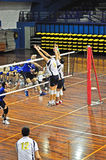 Volleyball match Royalty Free Stock Photography