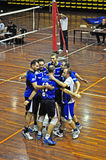 Volleyball match Royalty Free Stock Photos