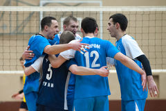 Volleyball match Royalty Free Stock Images