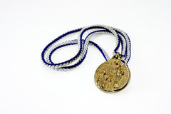 Volleyball medal Stock Images