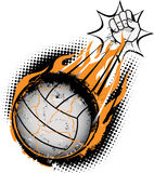 Volleyball Meteor Royalty Free Stock Image