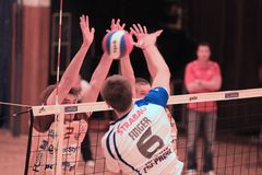 Volleyball - Michal Finger Royalty Free Stock Images