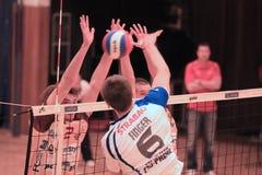 Volleyball - Michal-Finger Lizenzfreie Stockbilder