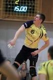 Volleyball - Michal-Finger im tschechischen extraleague Lizenzfreies Stockfoto