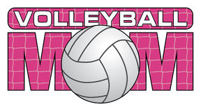 Volleyball Mom. Is an illustration of a design for s. Show your love and support with this unique volleyball design. Great for t-shirts or other items vector illustration