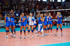 Volleyball : Monde Prix grand Image stock