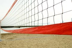 Volleyball net. Beach volleyball net Stock Images