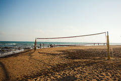 Volleyball net. Activity recreation Stock Photography