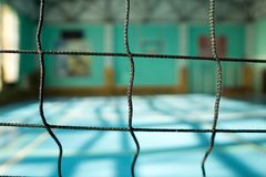 Free Volleyball Net Close-up On Blurred Background Royalty Free Stock Photography - 109889457