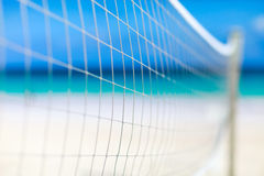 Volleyball net Stock Photo