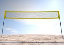 Volleyball Net Stock Photo
