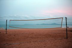 Volleyball net Stock Image