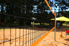 Volleyball net Royalty Free Stock Images