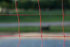 Volleyball net. Royalty Free Stock Photo