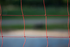 Volleyball net. Royalty Free Stock Images