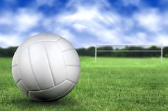 Volleyball in the park Royalty Free Stock Images
