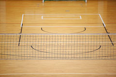 Volleyball play ground Stock Image