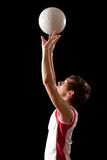 Volleyball Player Royalty Free Stock Images